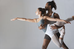 Couple Of Ballet Dancers Stock Photography