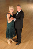 Couple ballroom dancing Royalty Free Stock Photos
