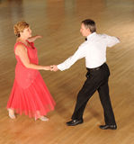 Couple ballroom dancing Stock Image