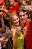 Couple in a bar Royalty Free Stock Photos