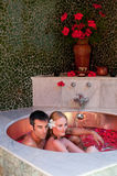 Couple In Bath Stock Photography