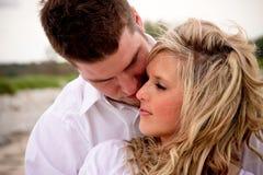 Couple on the Beach Royalty Free Stock Photos