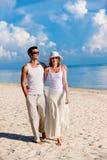 Couple On Beach Stock Photography