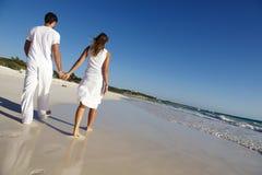 Couple on beach Royalty Free Stock Photo