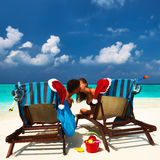 Couple on a beach Stock Photography