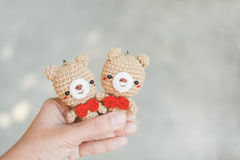 Couple bear doll Royalty Free Stock Photography