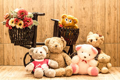 Couple Bears Royalty Free Stock Images