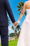 Couple at beauty Island Royalty Free Stock Photography