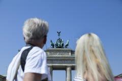 Couple in Berlin Stock Photo