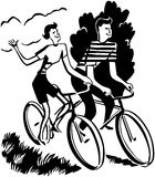 Couple On Bikes Stock Images