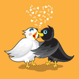 Couple of Birds Stock Photography
