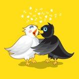 Couple of Birds Stock Image