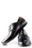 Couple of black  shoes Royalty Free Stock Image