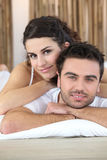 A couple bonding Royalty Free Stock Image