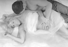 Couple Bonding over Baby Royalty Free Stock Photo