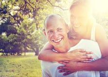 Couple Bonding Romance Holiday Concept Royalty Free Stock Photos