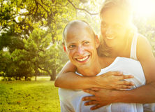 Couple Bonding Romance Holiday Concept Royalty Free Stock Images