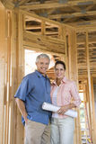 Couple Building Home Royalty Free Stock Photography