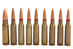 Couple of bullets Stock Photography