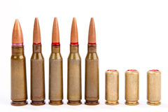 Couple of bullets Stock Image