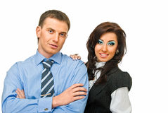 Couple business Stock Photography