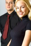 Couple or business people Stock Image