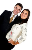 Couple of business people Royalty Free Stock Photography