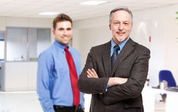 Couple of businessmen Stock Photo