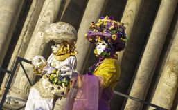 Carnival masks in Venice Stock Photography
