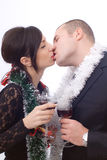 Couple celebrating Stock Image