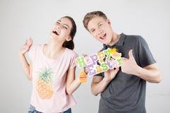 Couple celebrating easter Stock Photo