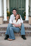 Couple Celebrating New Home Royalty Free Stock Photos