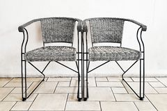 Couple chair Royalty Free Stock Photo