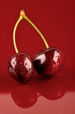 Couple Cherries Royalty Free Stock Photo