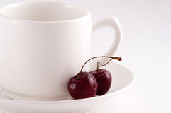 Couple of cherry Stock Photography