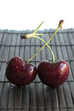 Couple of Cherry - Stock Image Stock Photos