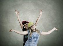 Couple of children Stock Image