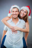Couple christmas Royalty Free Stock Image