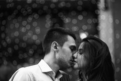 Couple  in the city Stock Photos