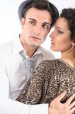 Couple close together Stock Photography
