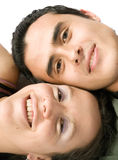 Couple close up Stock Images