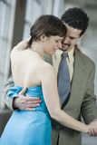 Couple closely dancing Royalty Free Stock Photography
