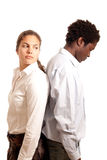 Couple conflict Stock Image