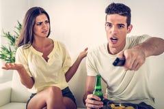 Couple Conflict Stock Photos
