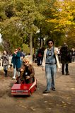 Starsky and Hutch at Lucca Comics and Games 2017 Royalty Free Stock Image
