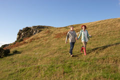 Couple in countryside Royalty Free Stock Images