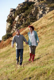 Couple in countryside Royalty Free Stock Photography
