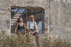 A couple in the countryside Stock Photos