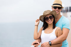 Couple cruise holiday Stock Image
