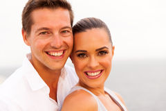 Couple cruise portrait Stock Photo